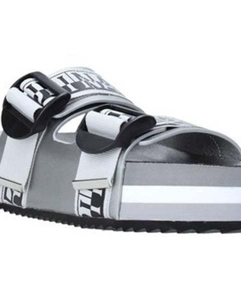 Strieborné topánky Napapijri