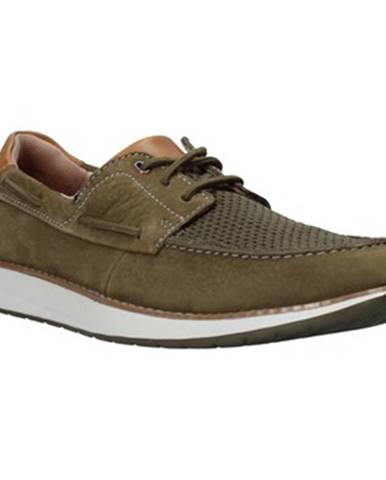 Zelené topánky Clarks