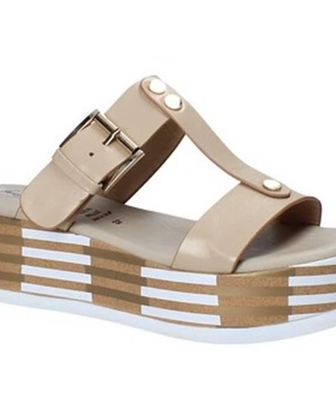 Béžové topánky Grace Shoes