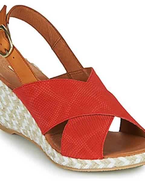 Oranžové sandále Pare Gabia