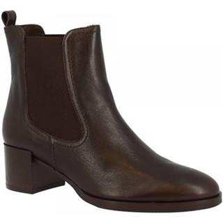 Polokozačky Leonardo Shoes  R902/1 FEELING T. MORO