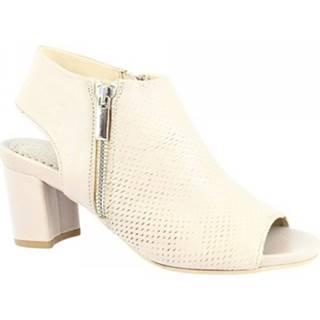Sandále Leonardo Shoes  N266 AIR TORTORA