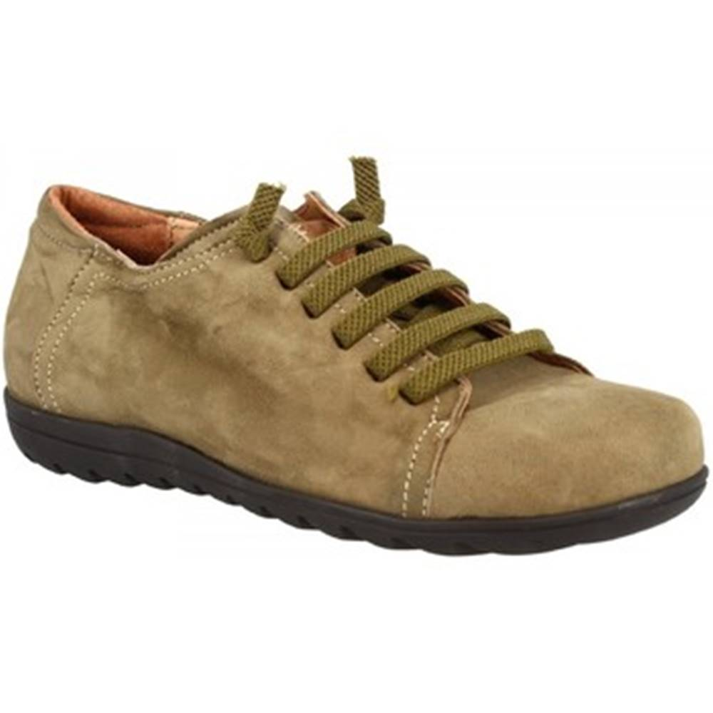 Leonardo Shoes Derbie Leonardo Shoes  504 NABUK SOTTOBOSCO