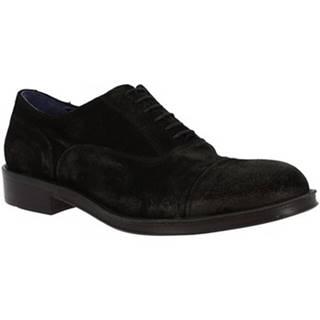 Derbie Leonardo Shoes  1006-1 CAMOSCIO NERO