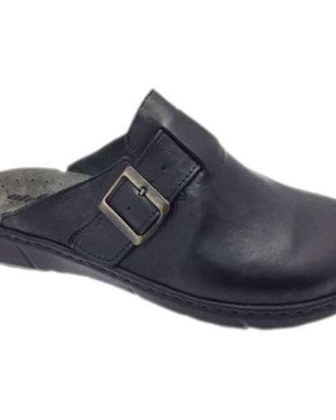 Čierne topánky Robert