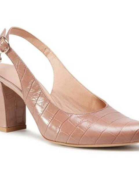 Svetloružové sandále Lasocki