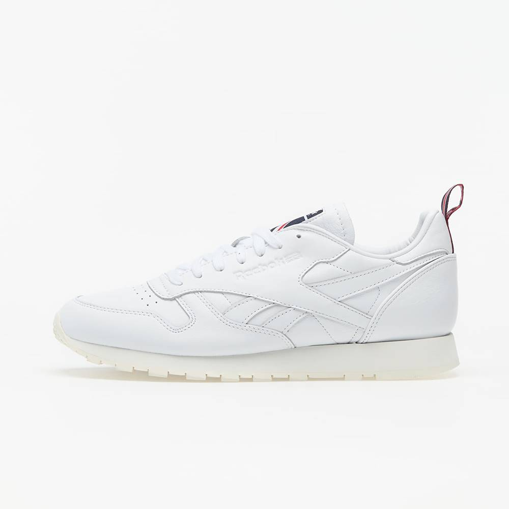 Reebok Classic Leather White/ Chalk/ Vector Navy