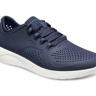 Crocs tmavo modré dámske tenisky Literide Pacer Navy/White
