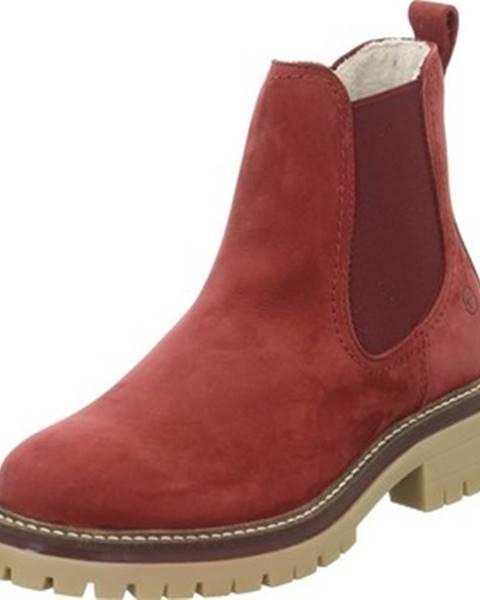 Červené topánky Tamaris