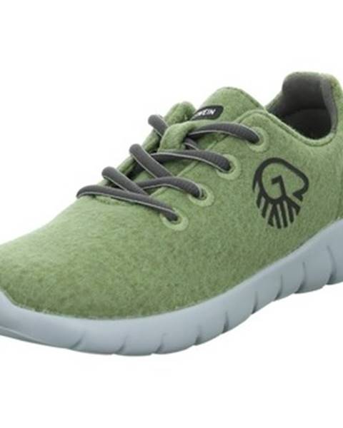 Zelené topánky Giesswein