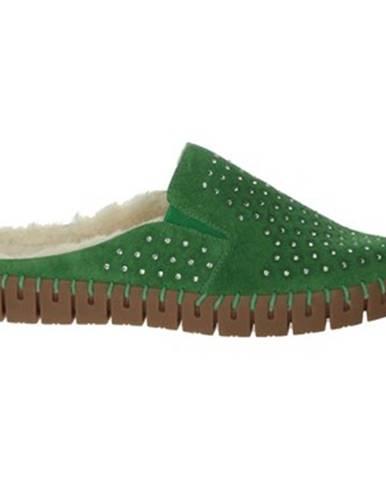 Zelené papuče Nina Capri
