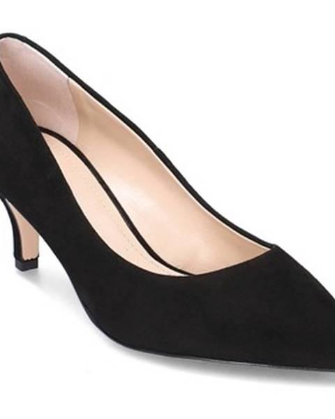 Čierne lodičky Solo Femme