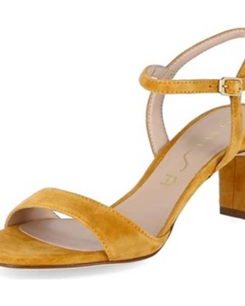 Viacfarebné sandále Unisa