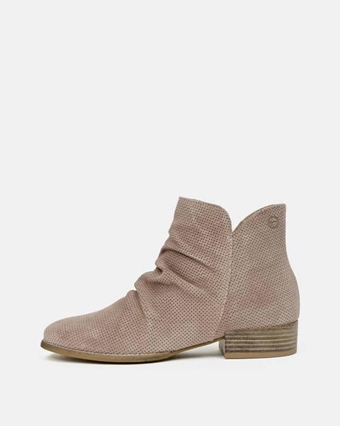 Svetlohnedé topánky Tamaris