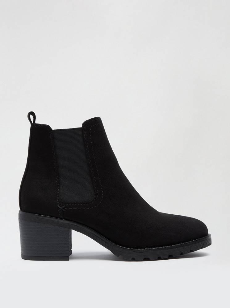 Dorothy Perkins Čierne členkové topánky Dorothy Perkins