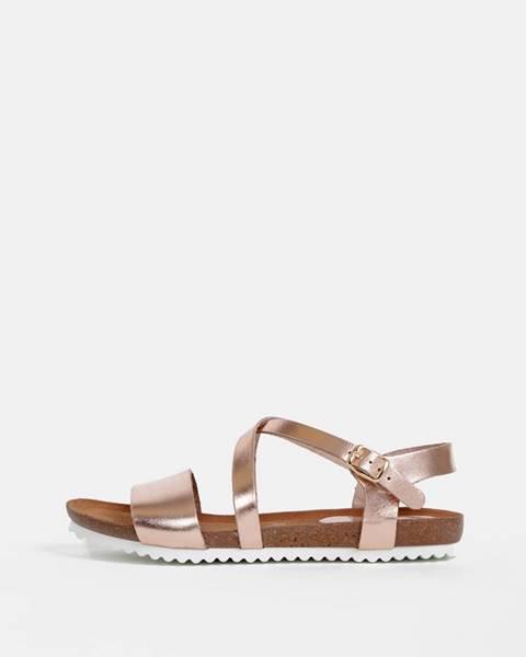 Zlatoružové sandále OJJU