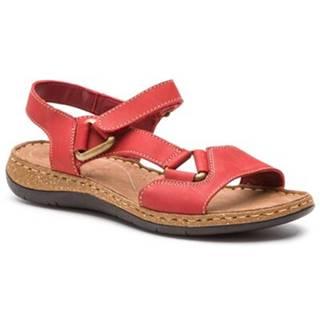 Sandále  WI20-4773-01 Prírodná koža(useň) - Nubuk
