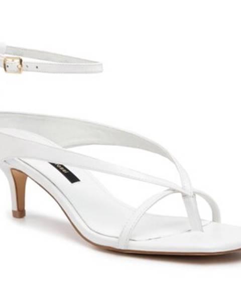 Biele sandále Gino Rossi