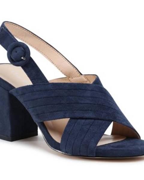 Tmavomodré sandále Clara Barson