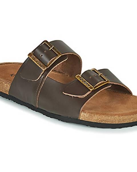 Hnedé sandále Kickers