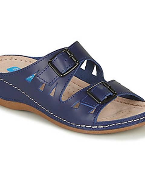 Modré topánky Damart