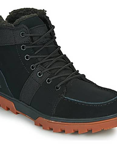 Čierne polokozačky DC Shoes