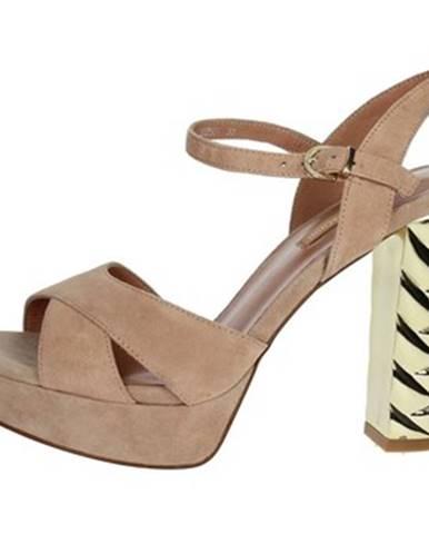 Ružové sandále Luciano Barachini