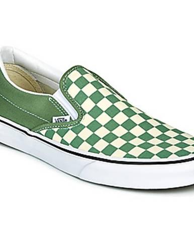 Zelené espadrilky Vans