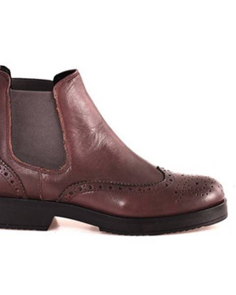 Fialové topánky Mally
