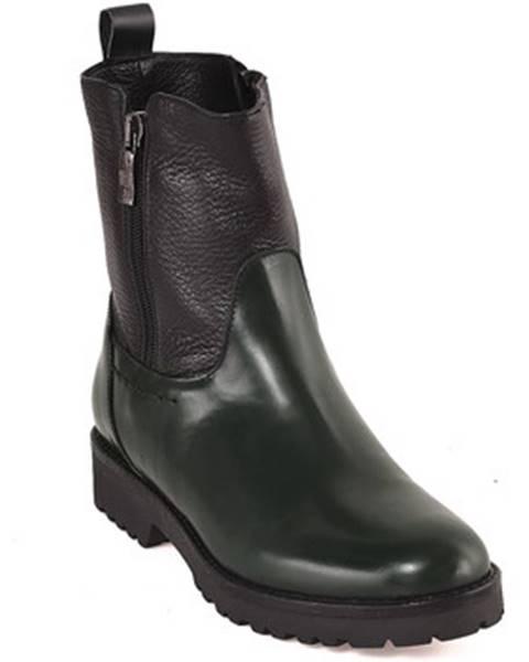 Zelené topánky Mally