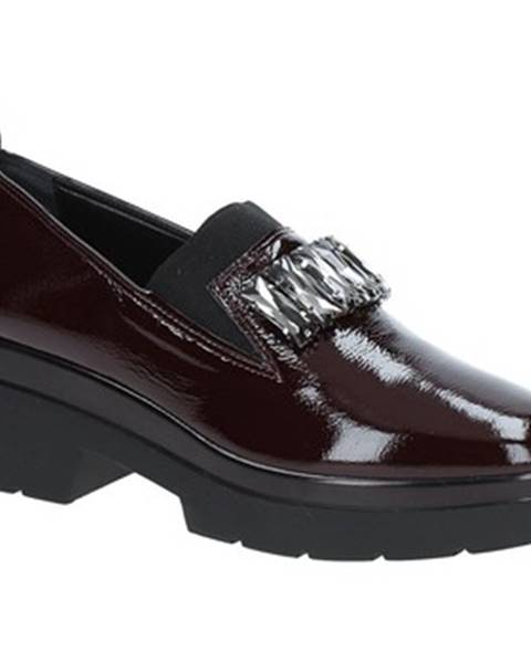 Čierne mokasíny Grace Shoes
