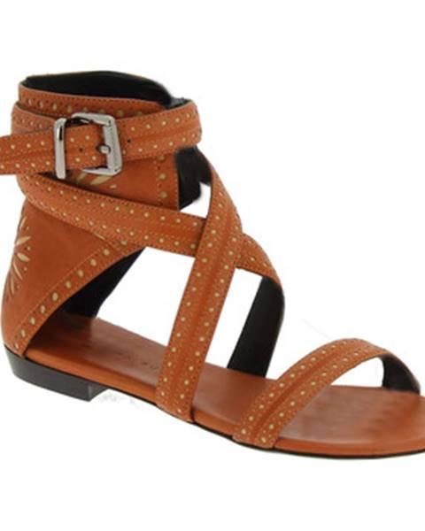 Béžové sandále Barbara Bui