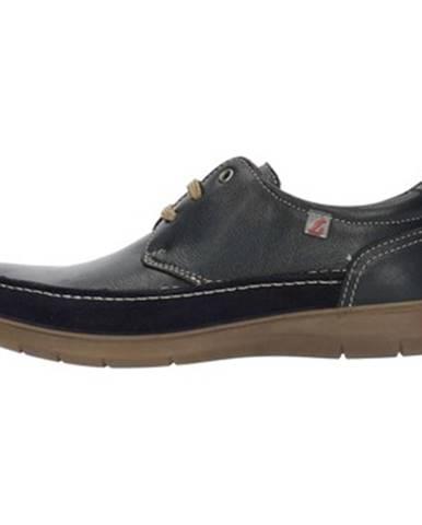 Modré topánky Luisetti