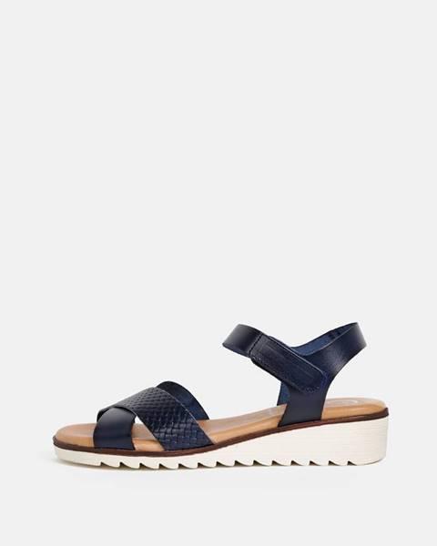 Tmavomodré sandále OJJU