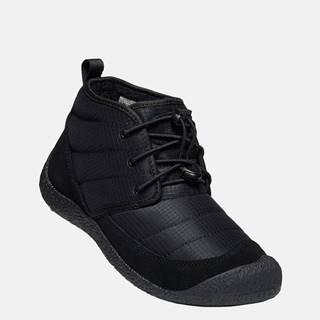 Čierne dámske zimné topánky Keen