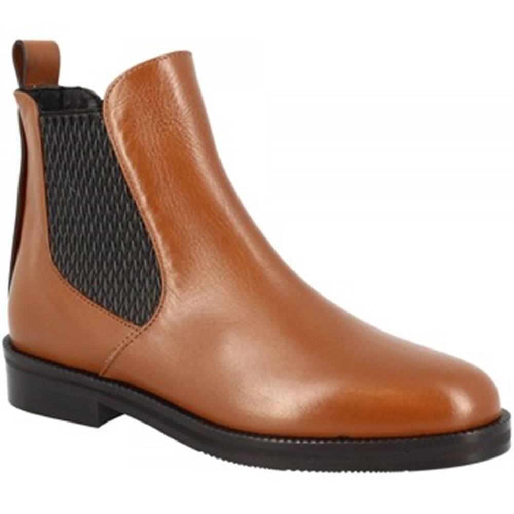 Leonardo Shoes Čižmičky Leonardo Shoes  2026 NAPPA CUOIO