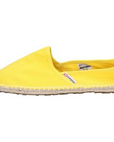 Žlté espadrilky Superga