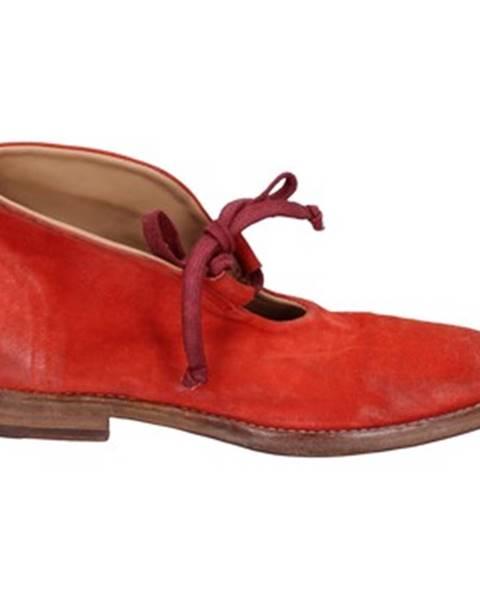 Červené balerínky Moma