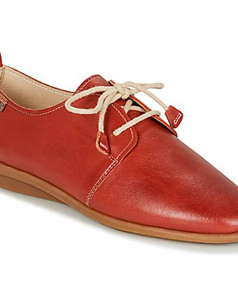 Červené topánky Pikolinos