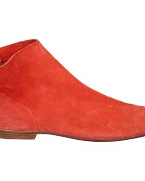 Červené sandále Moma
