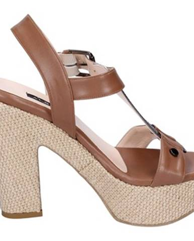 Hnedé sandále Albano