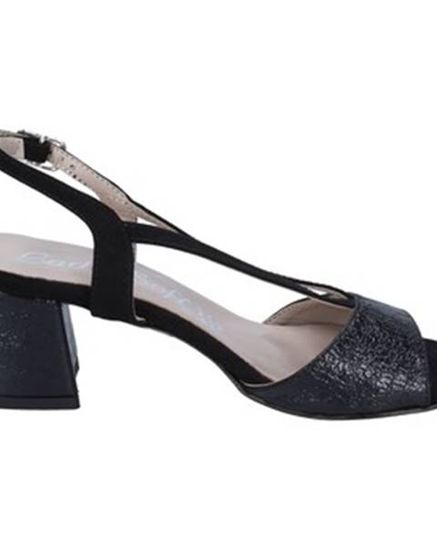 Čierne sandále Lady Soft
