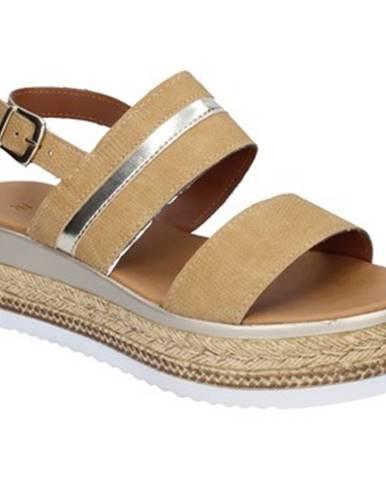 Béžové sandále Sara