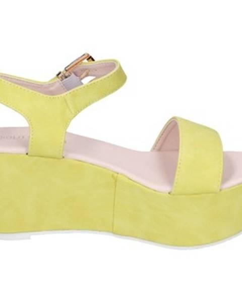 Žlté sandále Solo Soprani