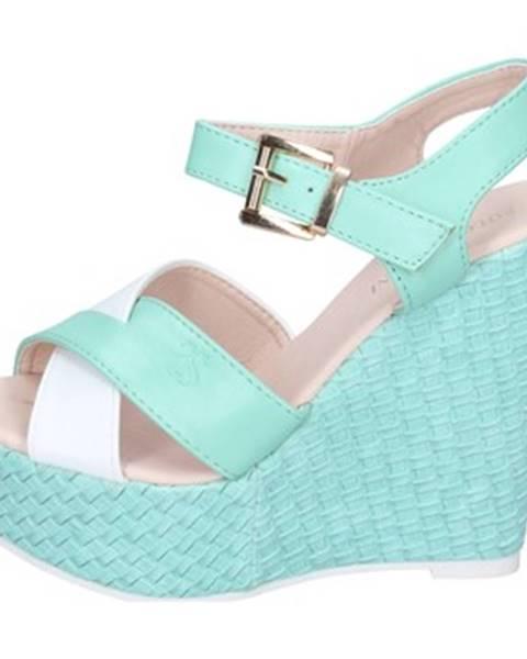 Zelené sandále Solo Soprani