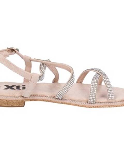 Ružové sandále Xti