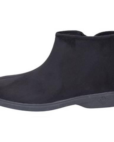 Čierne papuče Mauri Moda