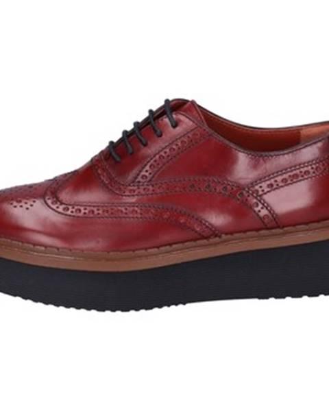 Bordové topánky Rossano Bisconti