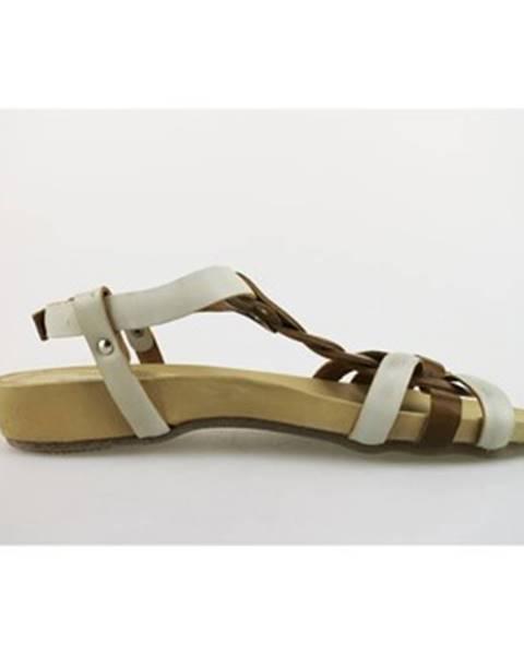 Biele sandále Michel Batic