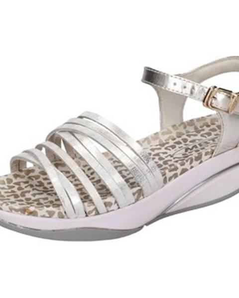 Zlaté sandále Mbt